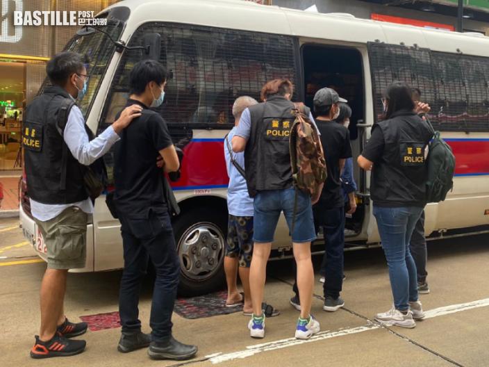 警破旺角非法釣魚機賭檔 5男被捕
