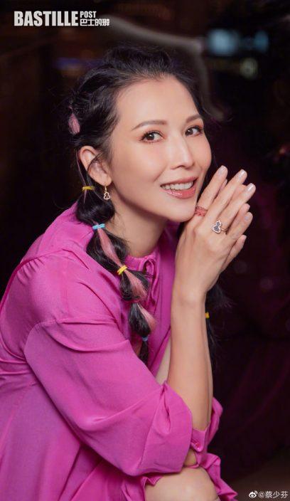 陳法蓉給愛人預祝48歲生日 張晉攬頸蔡少芬宣示主權