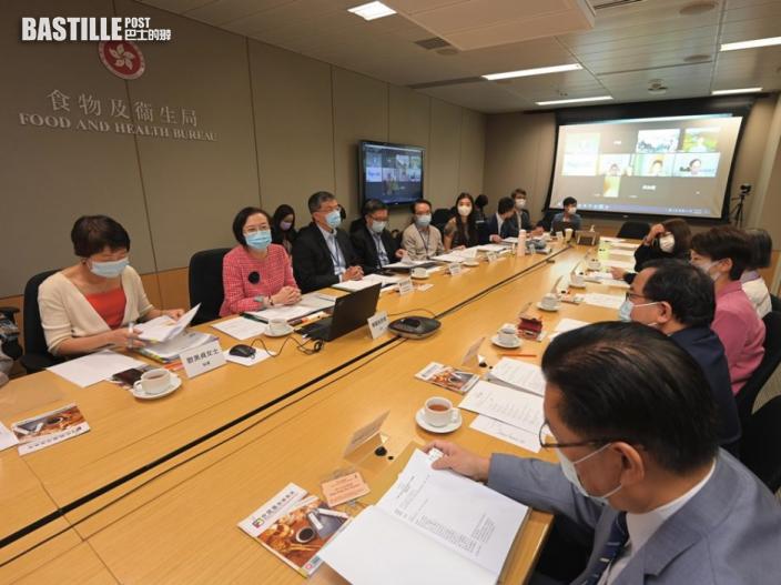 中醫中藥發展委員會開會 陳肇始指政府繼續支援業界發展