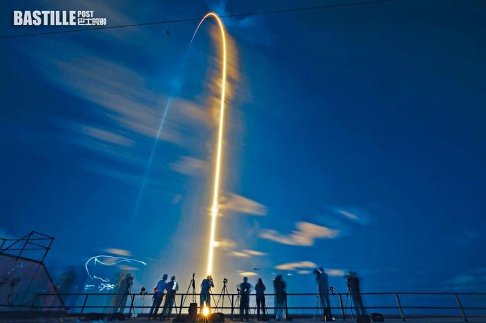 「全平民」太空團 成功升空展旅程