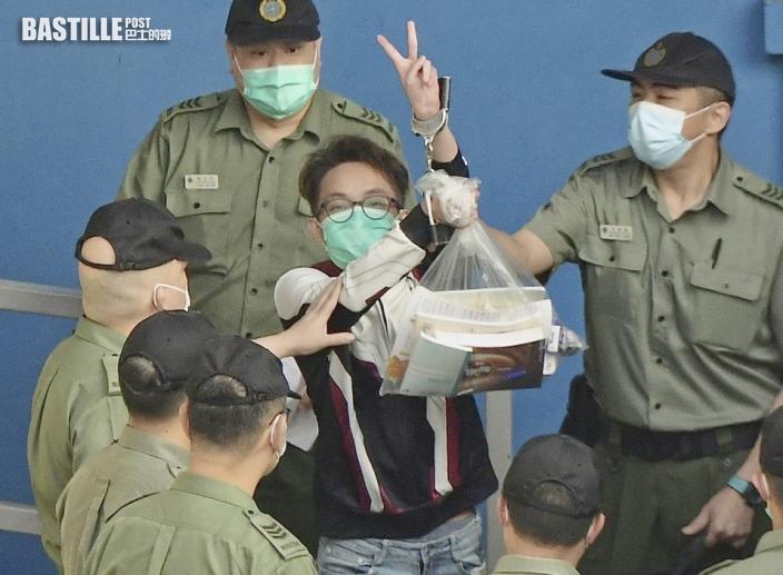 9.15港島遊行|陳皓桓被加控參與非法集結擬認罪 官押10.26再訊