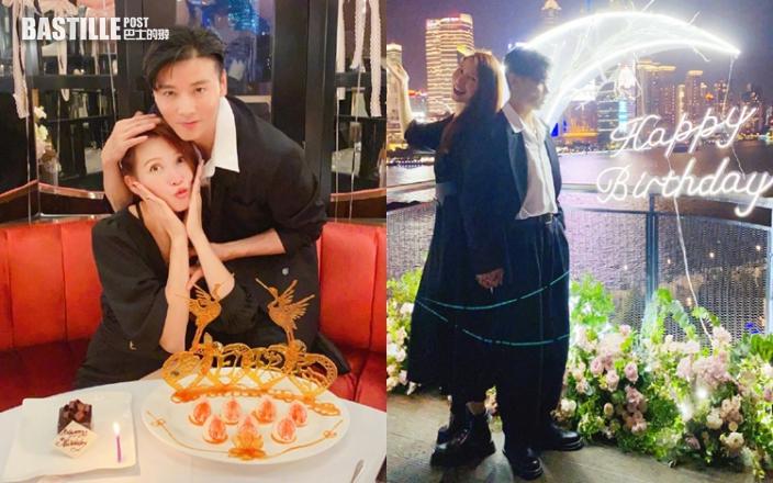 蔡少芬48歲生日 張晉推Job陪燭光晚餐超窩心