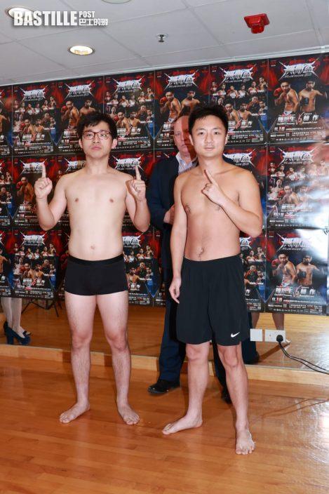 林鍾一戰│鍾培生獅哮嚇唔到林作   雙方磅數相差7.5kg