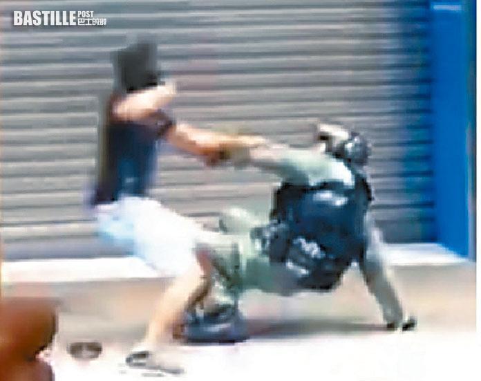 地盤工及男生認旺角示威圖搶警槍及拒捕 還柙下月判刑