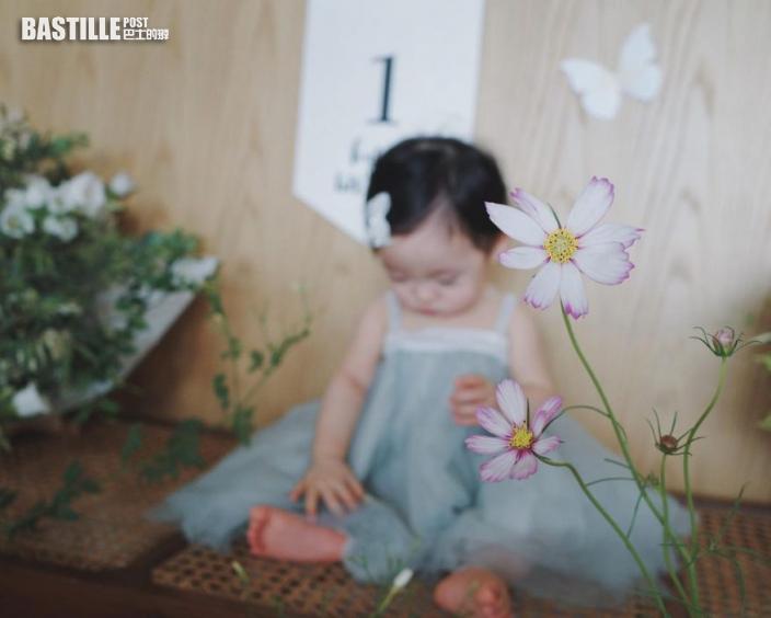 余香凝有感女兒出世4個月大得快 余文樂囡囡拍寫真慶祝1歲