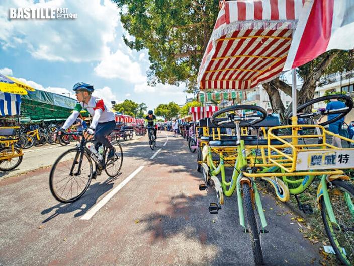 新聞追擊 東涌東填海區擬建9公里單車徑 路口增設4隧道減下車頻率