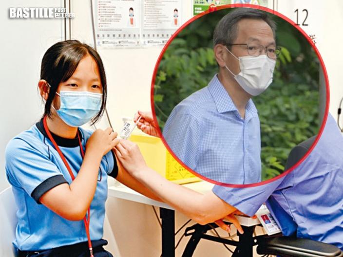 劉澤星:青少年打一針疫苗也起保護作用