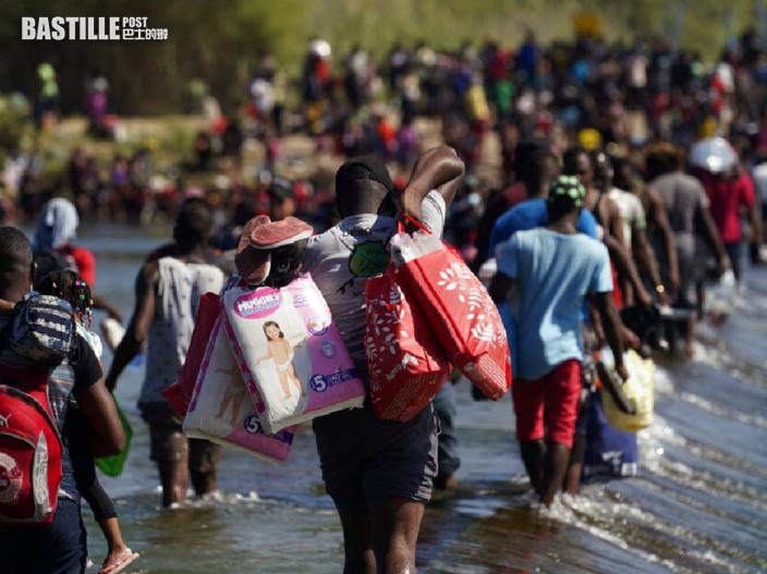 美國德州大橋下聚集逾萬非法移民 市長宣布緊急狀態