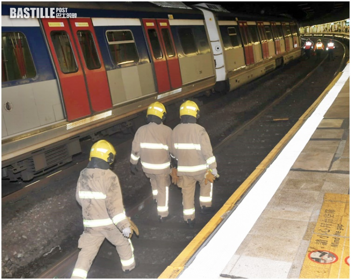 旺角東站有人墮軌 紅磡至九龍塘站列車服務暫停