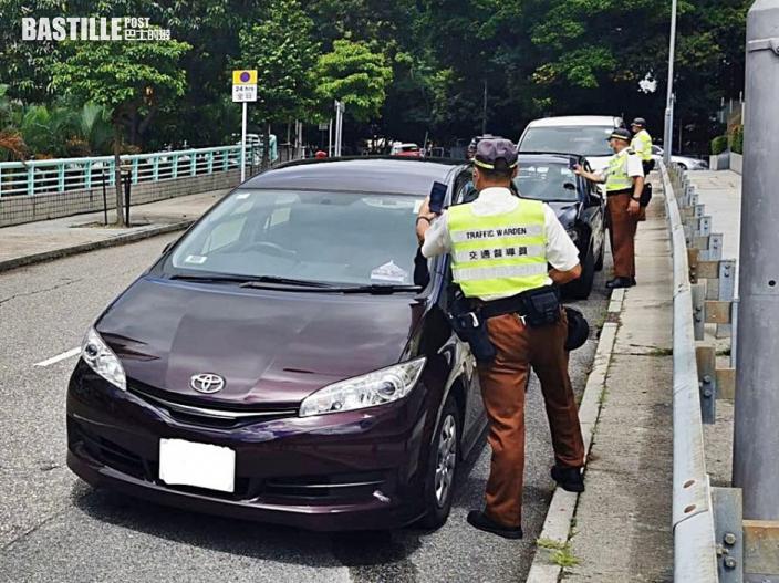 西區警區中秋節加強交通執法 一連四日嚴打違泊