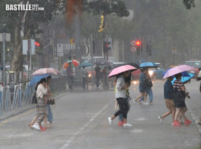 周四五多雲驟雨降至26度 周末有陽光氣溫重上32度