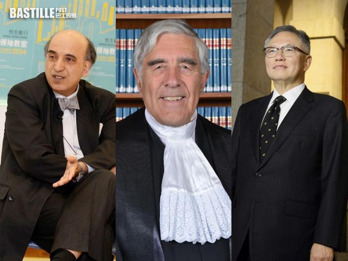 包致金鄧楨及范理申獲續任終院非常任法官