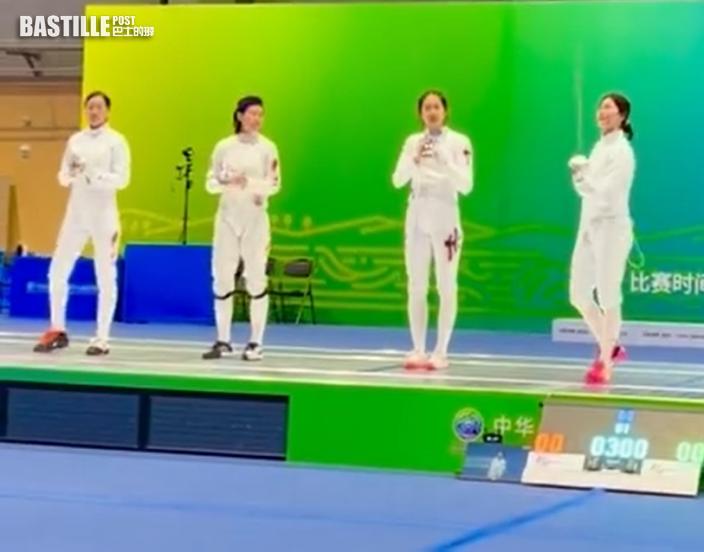 全運會|港隊江旻憓打入女子重劍4強