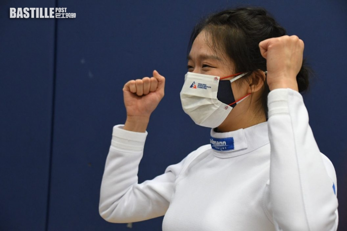 全運會|徐英偉祝賀江旻憓奪女子重劍個人賽首獎牌