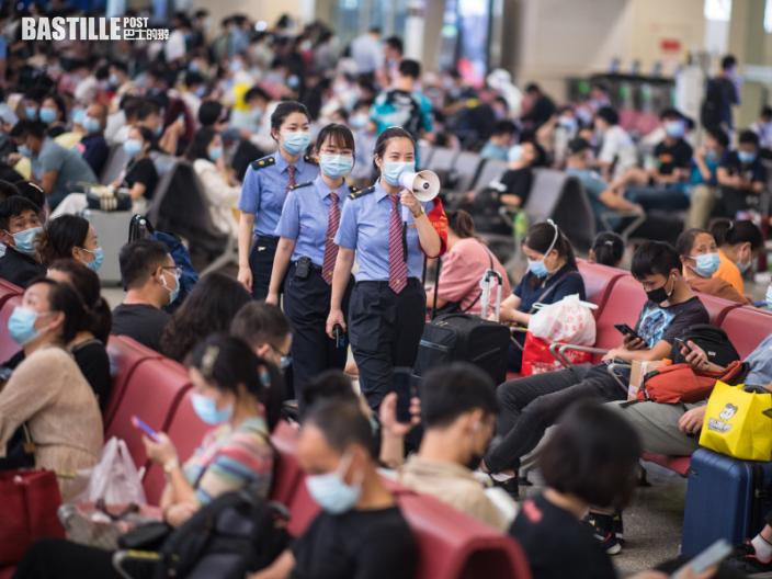 內地中秋旅客逾8815萬人次 達疫情前8成水平