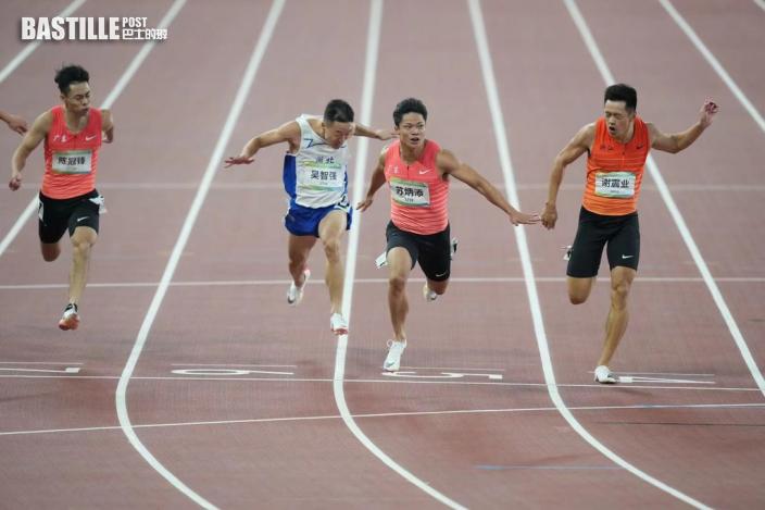 全運會|廣東蘇炳添跑出9秒95 奪首面全運百米跑金牌