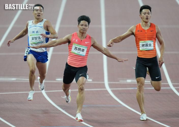 全運 9秒95創賽事紀錄 蘇炳添首膺全運男飛人