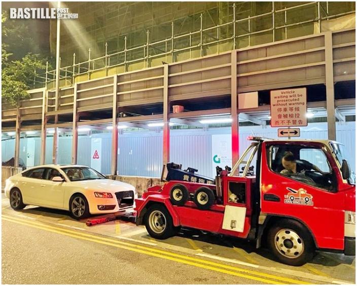 警東九龍反飛車酒駕拘3男 逾130車涉超速