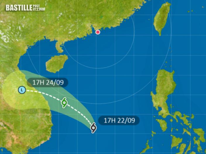 再有熱帶氣旋生成 本港800公里外掠過