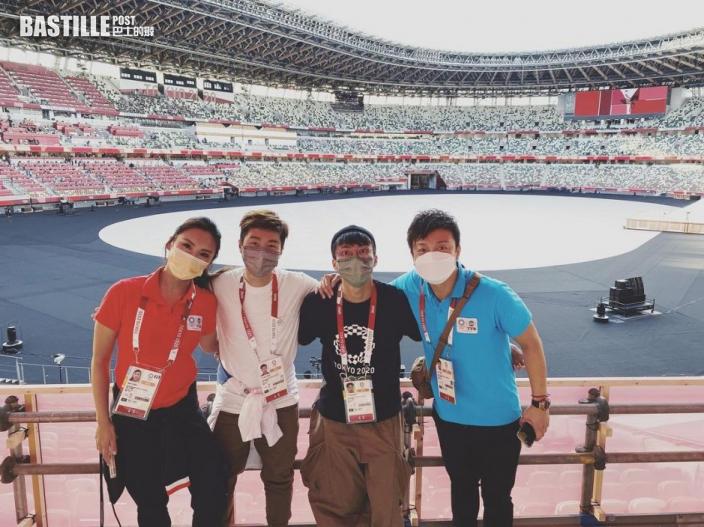 吳業坤周奕瑋東奧期間拍新節目   TVB:不構成違規行為