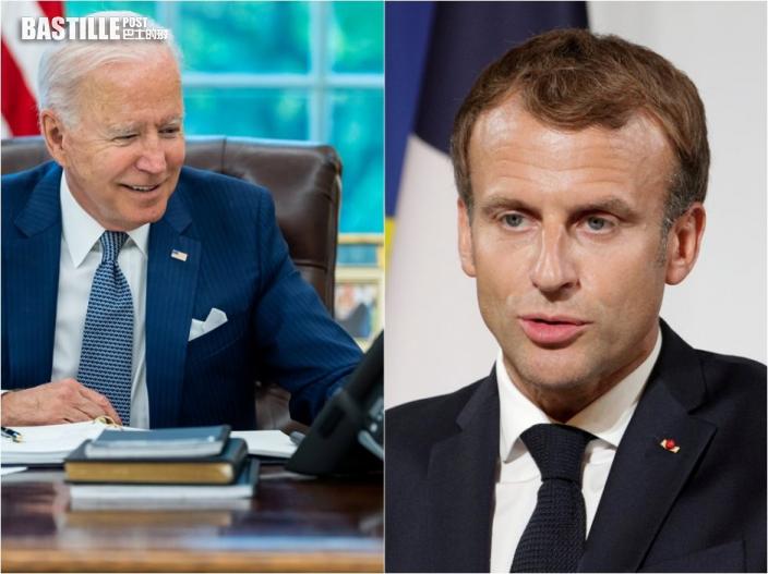 美法領袖通話同意10月底歐洲會晤