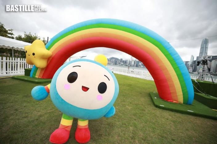太空館西九公園大型微笑裝置藝術 今起開放為期三周