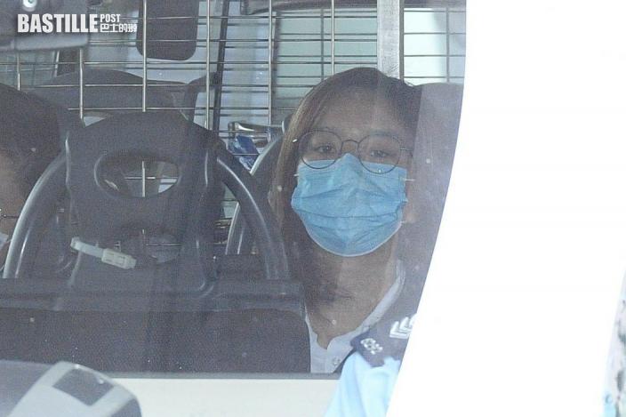賢學思政黃沅琳被控串謀煽動顛覆政權 下午西九法院提堂