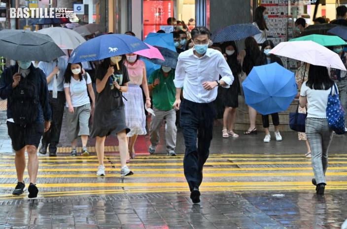 驟雨及雷暴影響廣東沿岸  本港今日大致多雲