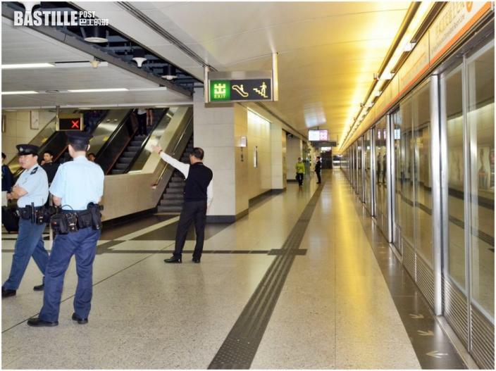 香港站34歲女子列車內遭鹹豬手 警擒31歲色狼
