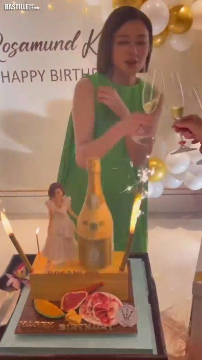 關之琳慶祝59歲生日 開派對度過開心時刻