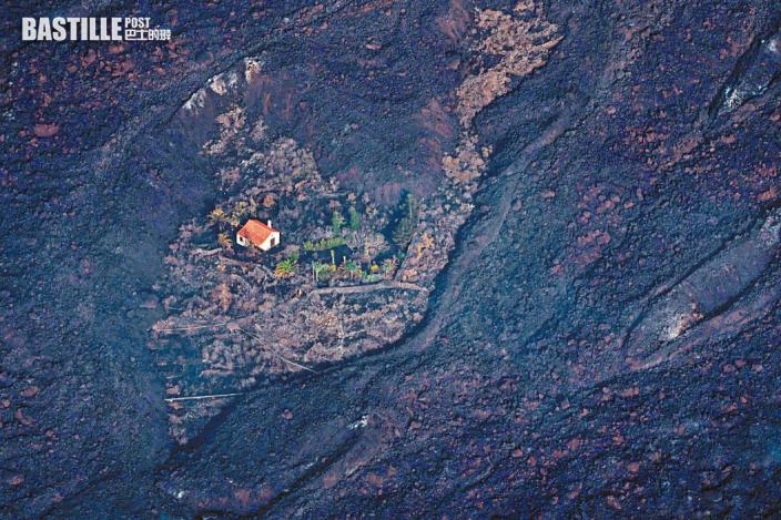 西班牙火山爆發 「奇迹之屋」倖存