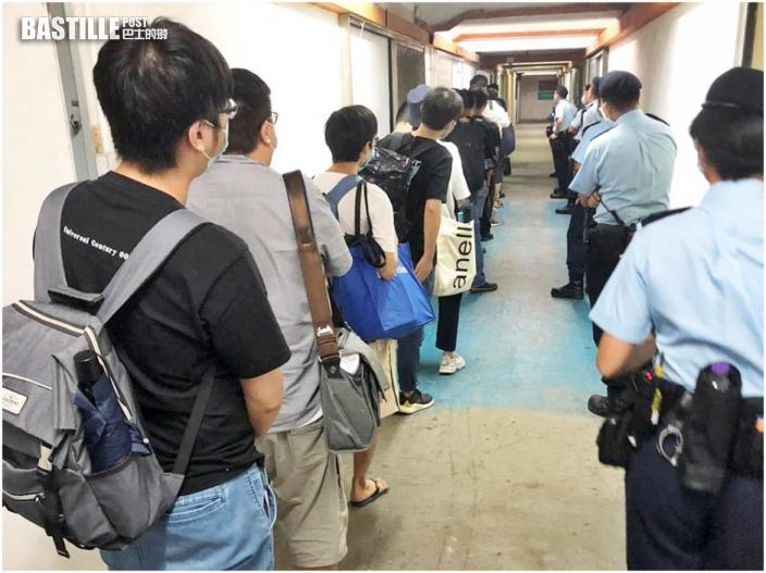 九龍灣工業中心派對房違規營業 警拘女負責人17客收罰單
