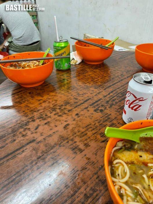 Juicy叮|隔離枱食剩半碗米線 港男「包底」籲勿浪費惹議