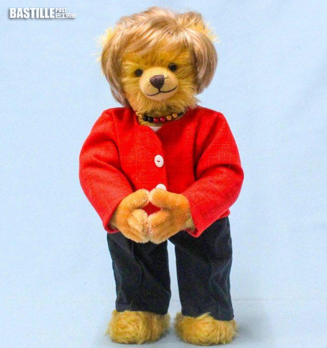 默克爾卸任在即 德國玩具廠推紀念版熊公仔搶購一空
