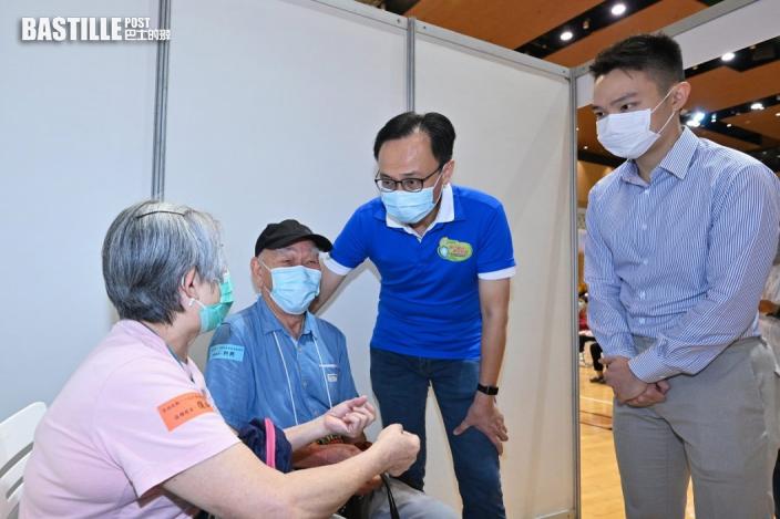 約290人參與長者疫苗接種日 獲專車接送