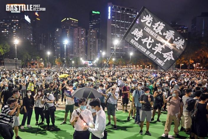 支聯會30年無間斷舉辦六四燭光集會 「結束一黨專政」惹爭議