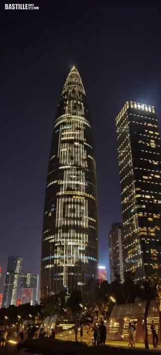 深圳摩天大樓亮燈歡迎孟晚舟回家 包機航線飛越北極未經美國