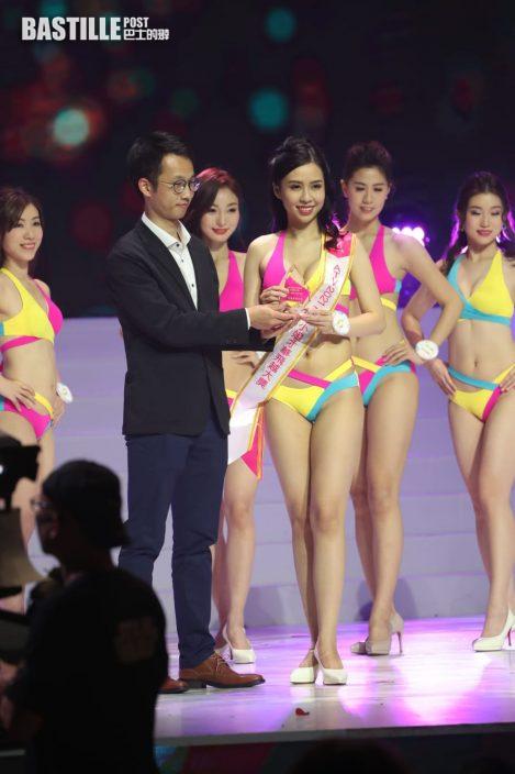 亞姐決賽丨陳美儀殺入8強  先拔頭籌兼奪「最完美體態獎」