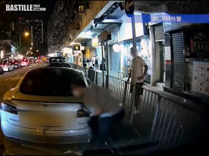 Juicy叮|車cam捕到「家棟式跨欄」蝦碌一刻 網民錯重點:隔離煙友唔笑先勁