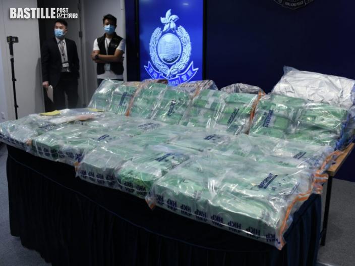 警破今年最大宗冰毒案 紅磡商舖拘一男撿1.32億元冰毒