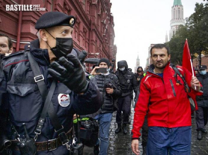 莫斯科逾千人示威 抗議國家杜馬選舉舞弊