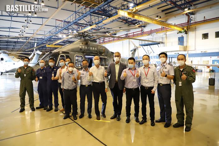 環保署與飛行服務隊合作派直昇機 參與大灣區臭氧研究