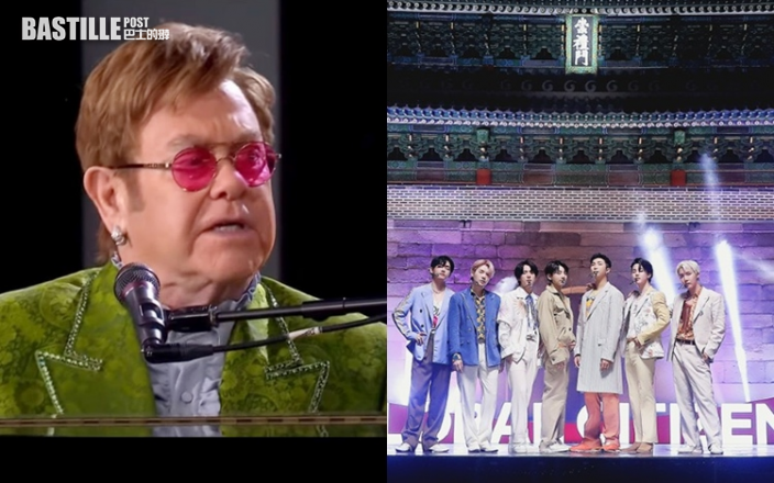 艾頓莊負傷演出支持環保   BTS首爾歷史建築物前跳唱新歌