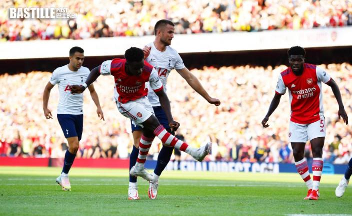 英超|34分鐘「完結賽事」 阿仙奴3:1熱刺