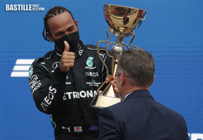 F1|天「雨」造美 黑帝反勝雙喜臨門