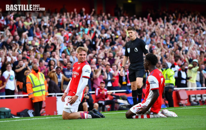 英超|阿仙奴3:1破熱刺錄三連勝 阿迪達將勝利獻給球迷