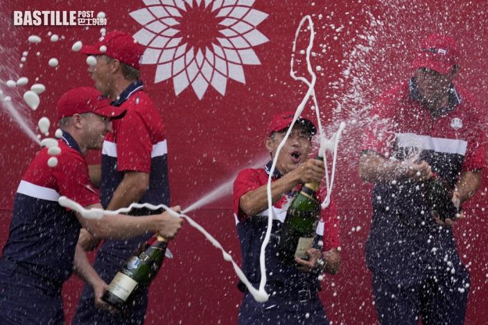 高爾夫球|美國隊擊敗歐洲隊 勇奪萊德盃