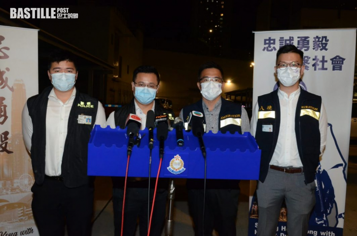 跨部門搜查香港仔魚市場 拘僱主非法入境漁民共21人