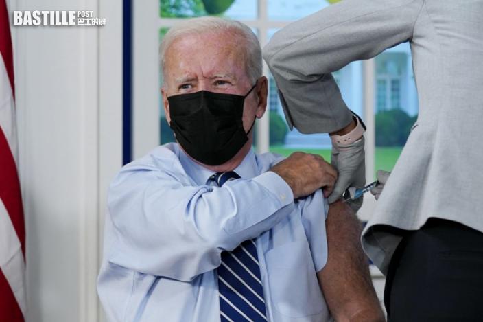 拜登接種新冠疫苗加強劑 國務院發言人普賴斯確診