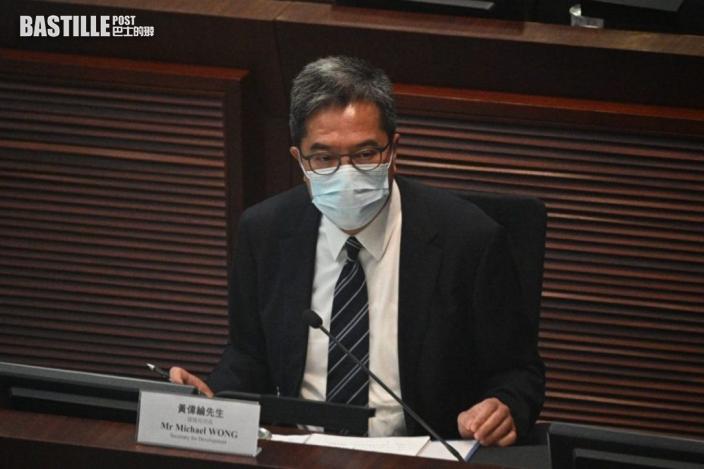 黃偉綸同意可檢視保護海港條例 指現行工程無受影響